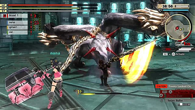God Eater 2 Burst Rage survival mission