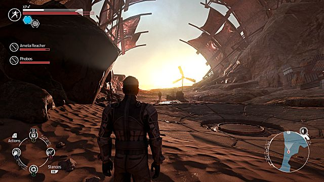 The Technomancer, mars, sun, lighting
