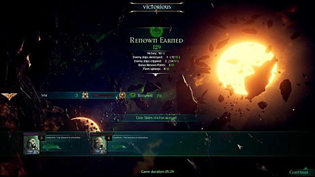 Battlefleet Gothic Armada renown