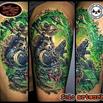 Tattoos full sleeves - 25 World Of Warcraft Tattoos That Will Blow Your Mind