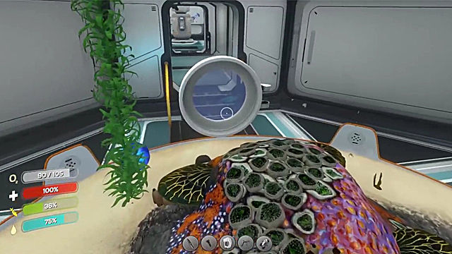 Subnautica large aquarium farming