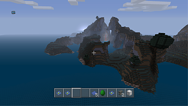 Minecraft seed all biomes mushroom island