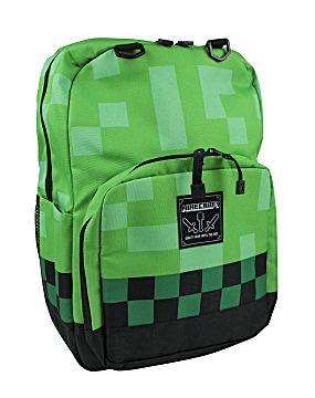 Minecraft Creeper  64 16″ School Backpack Book Bag 0666bbac8762c