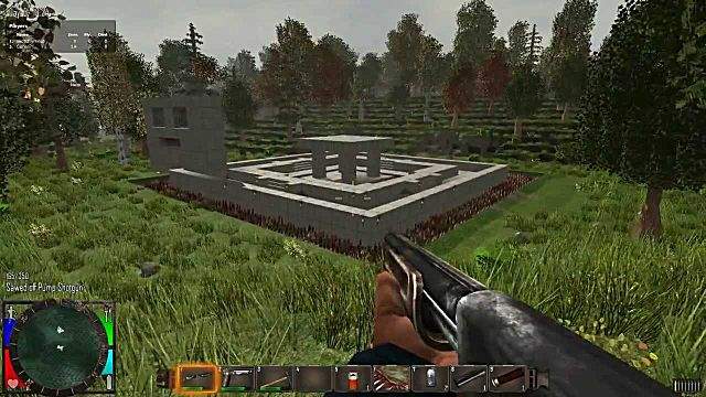 7 Days to Die enemy base