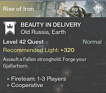 destiny rise of iron gjallarhorn quest