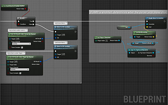 Example picture of UE4 Blueprint