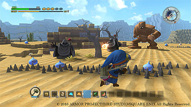 Dragon Quest Builders Review Gameplay and Combat