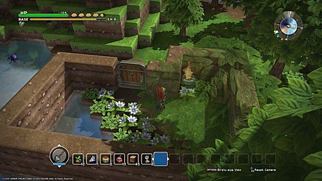 Dragon Quest Builders Challenges Guide Walkthrough Chapter 1 Cantlin Garden