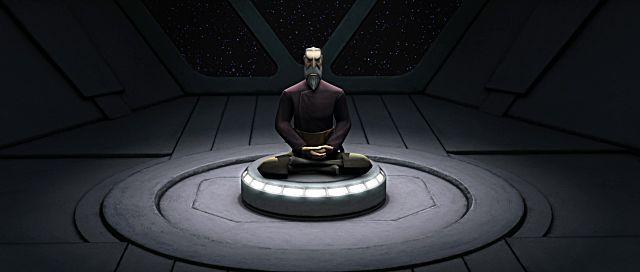 Duku meditating SWTOR