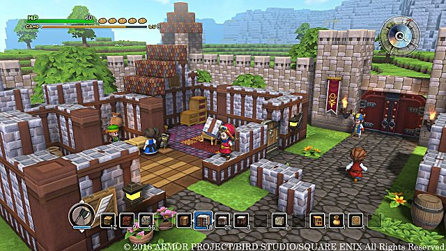 Dragon Quest Builders Tips and Tricks Beginner's Guide Building Rooms