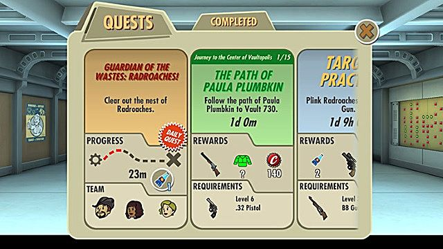Fallout Shelter adds quests, new locations, and comes to PC