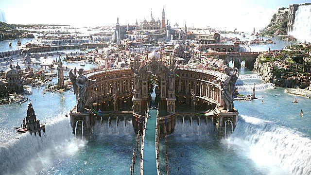 Final Fantasy XV cities