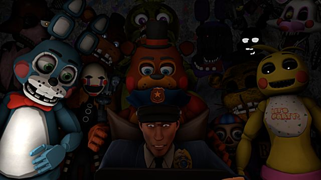 fnaf five nights at freddys