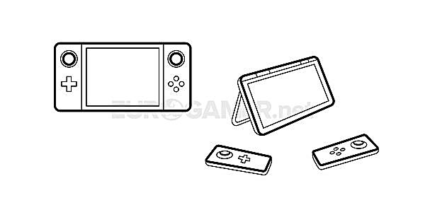 Nintendo Switch NX rumors detatchable controllers tablet