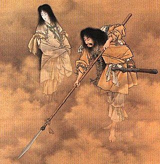 Iznami (Left) and Izanagi (Right) from