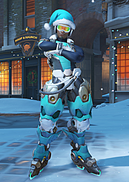 overwatch lucio winter skin