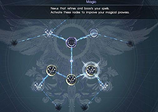 final fantasy xv magic ascension board