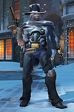 overwatch mccree winter skin