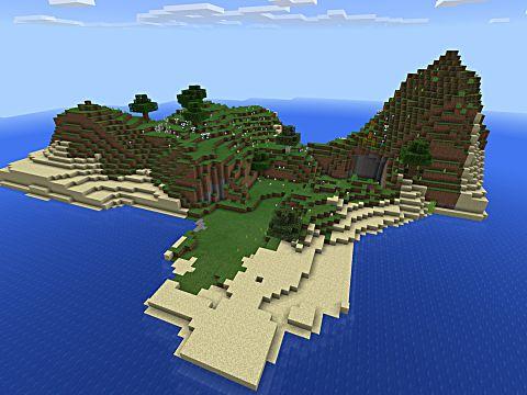 Minecraft seed survival island tom hanks castaway