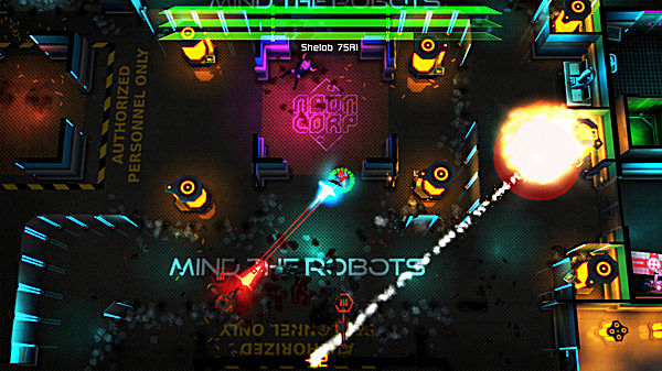 Ps4 Games Science Fiction : Neon chrome review a roguelike on s sci fi steroids