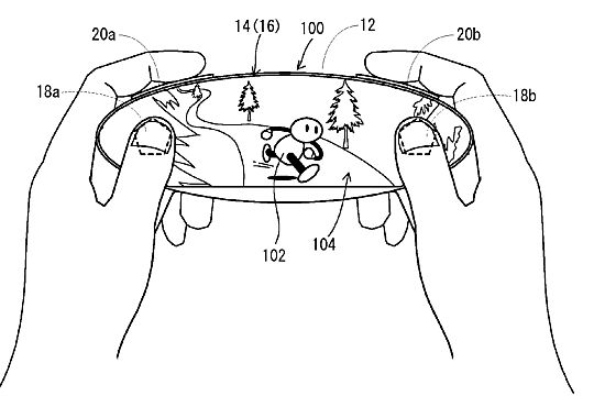 Nintendo Switch NX Rumors Original Controller Patent