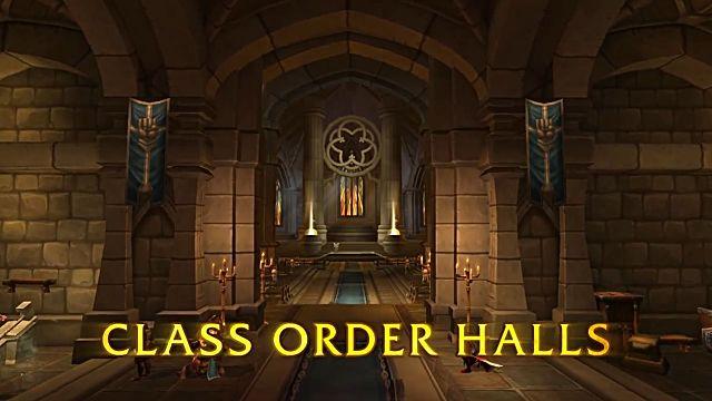 wow legion class order halls