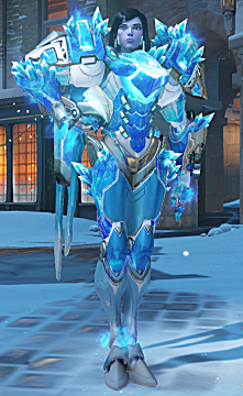 overwatch Pharah winter skin