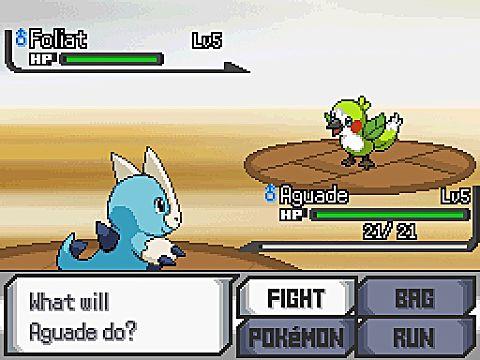pokemon sage battle screenshot