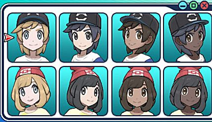 Pokemon Sun and Moon customization