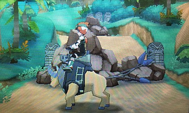 pokemon sun and moon ride pager Tauros