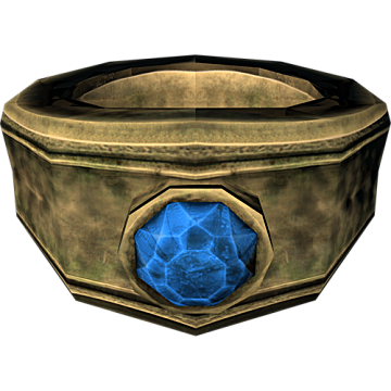 Azhidal's Ring of Necromancy from Skyrim