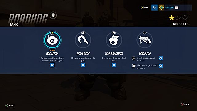 Overwatch Roadhog abilities