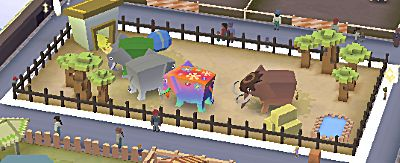 Rodeo Stampede All Savannah Animals Riding Guide Rodeo