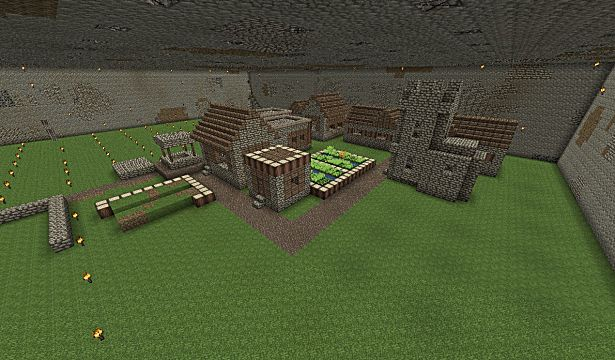 minecraft seed jungle biome snow biome underground village