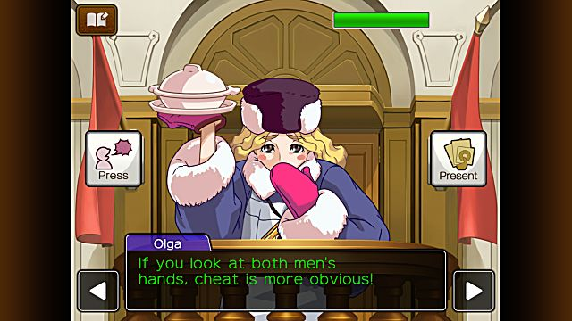 Apollo Justice Ace Attorney Episode 1 Turnabout Trump Part 1 Case Guide iOS Android The Final Hand Cross-Examination