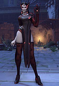 overwatch symmetra halloween skin