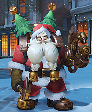 overwatch torbjorn winter skin