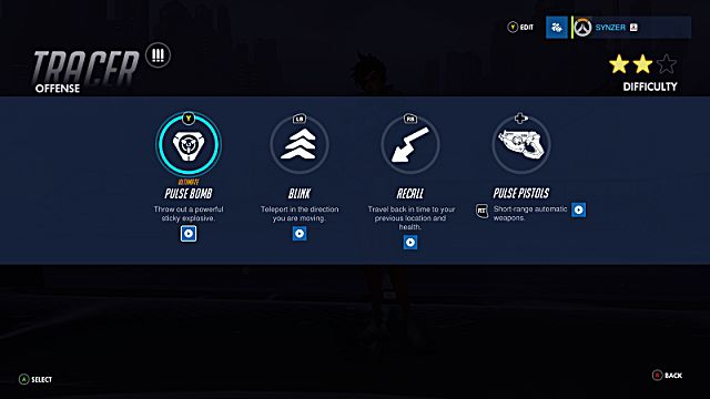 Overwatch Tracer abilities