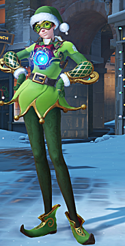 overwatch tracer winter skin