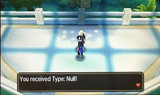 pokemon sun and moon type: null