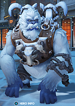 overwatch winston winter skin