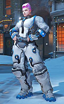 overwatch zarya winter skin