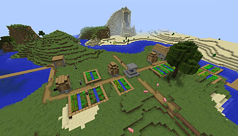 Top 20 Minecraft Seeds for Minecraft 1 10 (October 2016