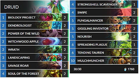 Best Budget Hearthstone Decks for The Boomsday Project Meta