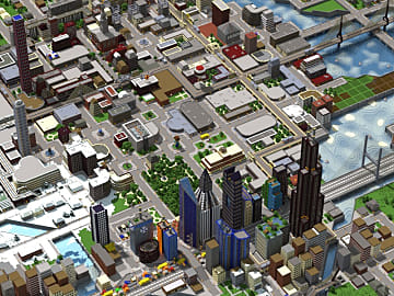 download game minecraft city life
