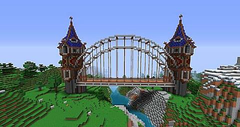 The 10 Coolest Minecraft Bridges! | Minecraft