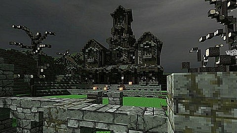 8 Spooky Minecraft Haunted Houses And Towns Minecraft
