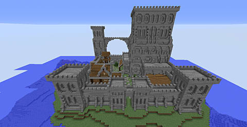 Top 9 Minecraft Seeds With Castles Using Map Downloads