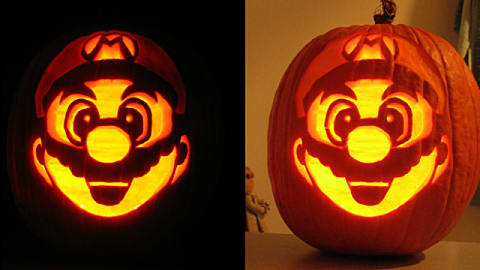 21 Nerdtastic Video Game Pumpkin Carvings You Can Diy This Halloween