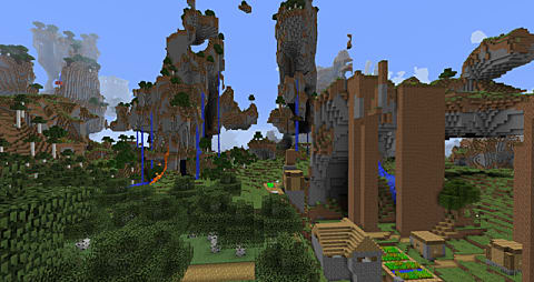 10 Amazing Amplified Seeds to Build Your Epic Base on in Minecraft